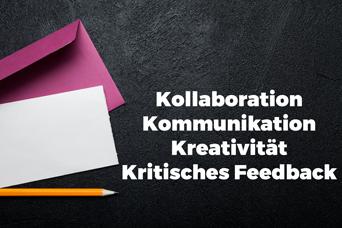 Erfahrung mit Digitalen Kompetenzen 3 - Kollaboration, Kommunikation, Kreativität und Kritisches Feedback - Michael Zwahlen